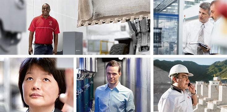 About Bosch Rexroth - Market Segments