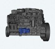 A10VO and A10VNO axial piston pumps from Rexroth for direct installation in Cummins bus and...