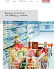 Rexroth Automation Technologies for Food and Packaging Industries Highlighted in Brochure Series