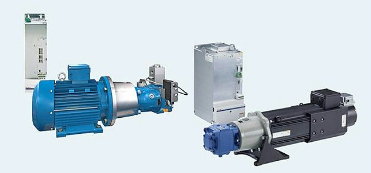 Sytronix energy saving hydraulic drives