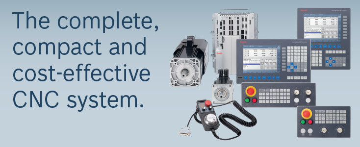 The complete, compact and cost-effective CNC system.