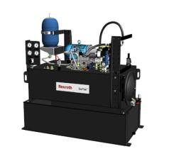 3 Hp motor, 4.1cc gear pump, 60 gallon reservoir, 1.61 GPM flow
