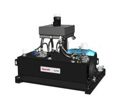 40 Hp motor, 45cc axial piston pump, 80 gallon reservoir, 19.14 GPM flow